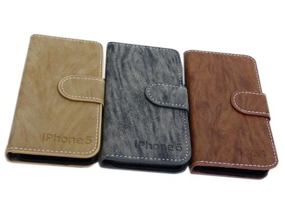 8e7c0bd120 iPhone SE 5S 5 手帳型 スタンド 文字入り ポリウレタン PU ケース カバー