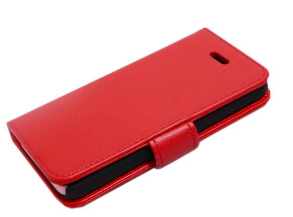 00d113e353 iPhone 5C iPhone SE iPhone 5S iPhone 5 手帳型 スタンド シンプル 無地 ...
