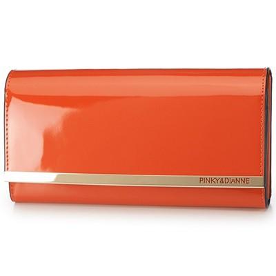 新作人気 スペッキオ オレンジ Pinky&Dianne ピンキー&ダイアン 長財布-財布