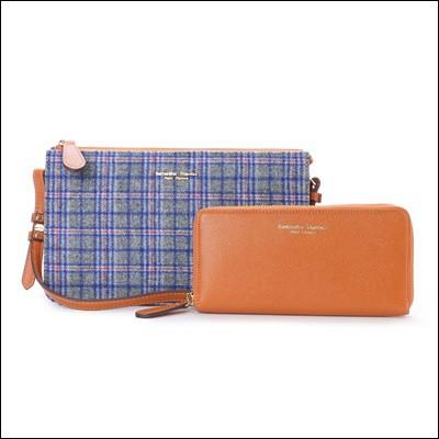 新品 サマンサタバサ プチチョイス 正規品 長財布セット ミニショルダーバッグ チェックバージョン ブラウン, Clothes-Pin E-shop:07d1fe3d --- 1gc.de