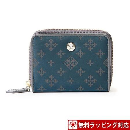 【はこぽす対応商品】 ラシット 財布 折財布 ラウンドファスナー Teal Green russet, アメニティ e2b2228f