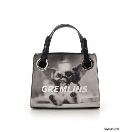 品質保証 サマンサタバサ ハンドバッグ グレムリンコラボコーブ ブラック Samantha Vega, ひなたまこっこ b3937740