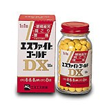 正規代理店 【第3類医薬品】エスエス製薬 エスファイトゴールドDX 90錠  錠剤-医薬品