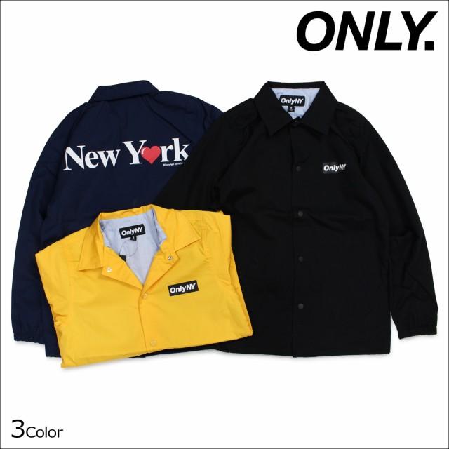 2d639d0ff7d9 ONLY NY オンリーニューヨーク ジャケット コーチジャケット コットン メンズ アウター NEW YORK LOVE COACH JACKET 3