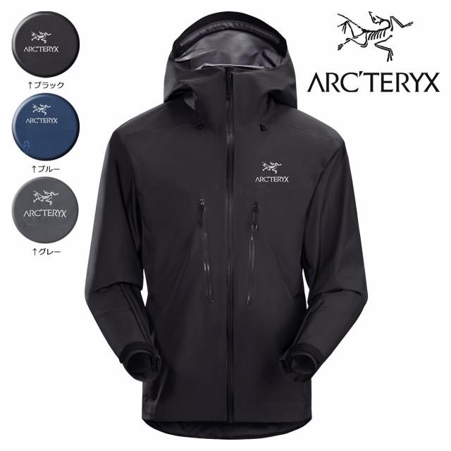 アークテリクス ARCTERYX ジャケット アルファ ALPHA AR JACKET 18086 メンズ ブラック ブルー グレー