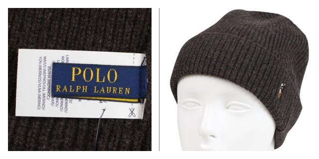 cb02f6beafd ポロ ラルフローレン POLO RALPH LAUREN ニット帽 ニットキャップ ビーニー メンズ レディース メリノウール SIGNATURE