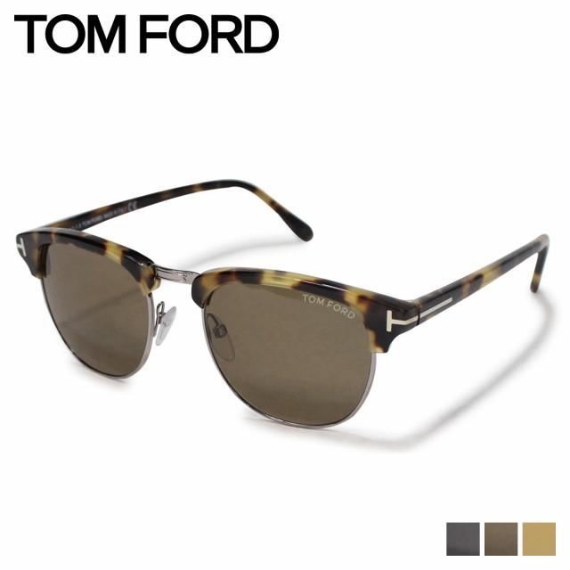 2019公式店舗 トムフォード TOM FORD サングラス FORD メンズ レディース TOM アイウェア FT0248 HENRY HENRY ウェリントン SUNGLASSES イタリア製, リポーズジョイ:23921aa1 --- chevron9.de