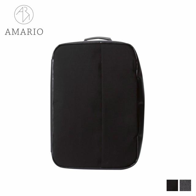 【新作からSALEアイテム等お得な商品満載】 AMARIO アマリオ リュック バッグ バックパック ブリーフケース ショルダー メンズ 14.6L 3WAY HACO 15 ブラック グレー 黒 HACO15, 宗像郡 3f327bd4