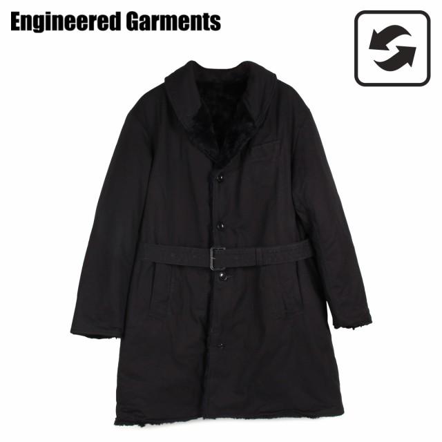 品質満点 BIGSALE エンジニアド ガーメンツ ブラック ENGINEERED GARMENTS コート COAT メンズ エンジニアド リバーシブル SHAWL COLLAR REVERSIBLE COAT ブラック 黒 19FD019, VIPガリバーチェーン:a977c978 --- stunset.de
