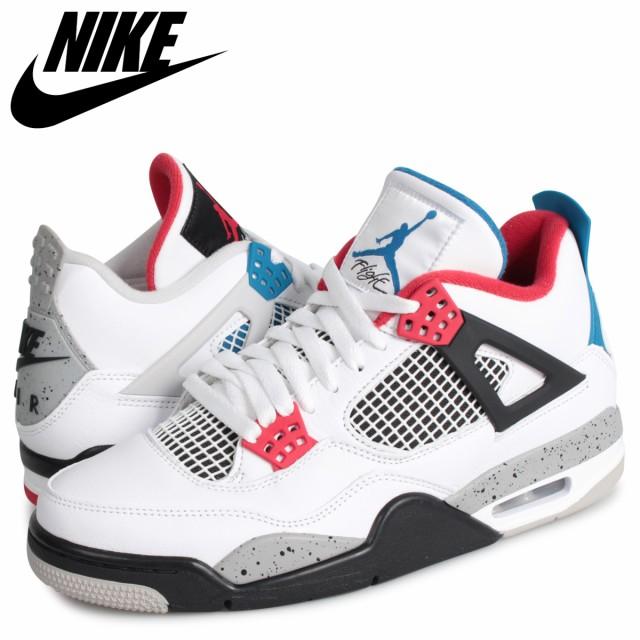 第一ネット JORDAN ナイキ エアジョーダン4 白 WHAT 4 ホワイト RETRO 4 NIKE zzi CI1184-146 レトロ SE メンズ スニーカー AIR THE 返品-靴・シューズ