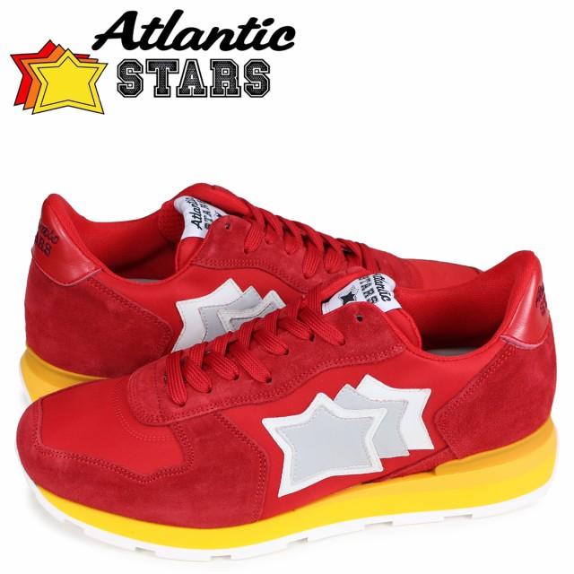 雑誌で紹介された アトランティックスターズ Atlantic STARS アンタレス スニーカー メンズ ANTARES レッド RRR-15GS, 出雲國縁起堂 346ffa17