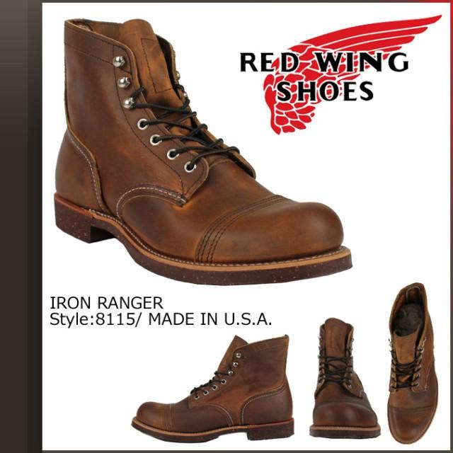 レッドウィング red wing ブーツ 6inch iron ranger 6インチ 8115 8085