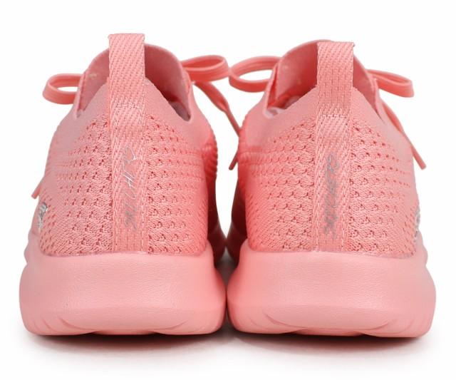 SKECHERS スケッチャーズウルトラフレックススニーカーレディース ULTRA FLEX PASTEL PARTY pink 13098