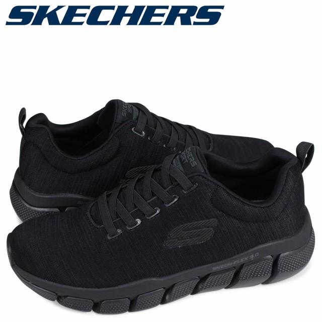 promo codes lowest price classic shoes スケッチャーズ SKECHERS スケッチ フレックス スニーカー メンズ SKECH FLEX 3.0 STRONGKEEP ブラック 黒 52843