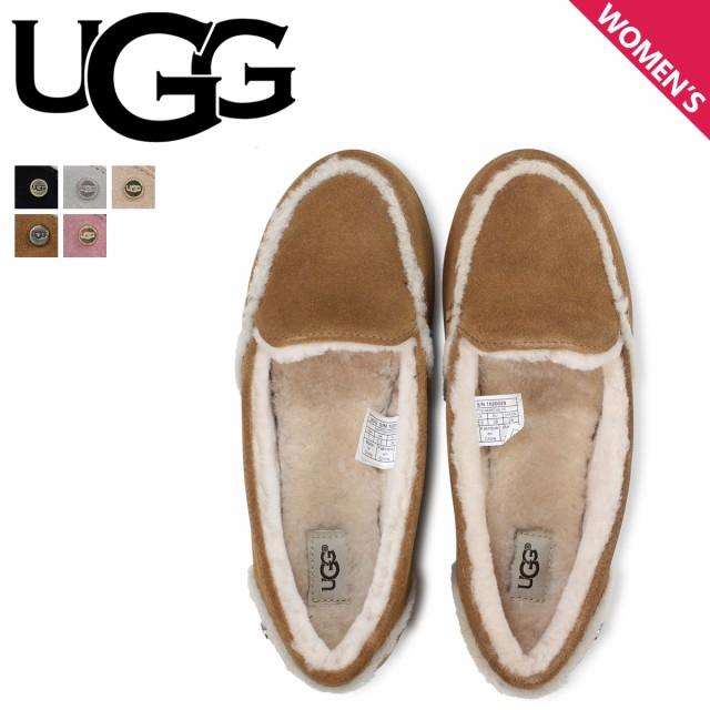 UGG アグ スリッポン ヘイリー レディース ムートン シープスキン WOMENS HAILEY ブラック グレー ブラウン 1020029