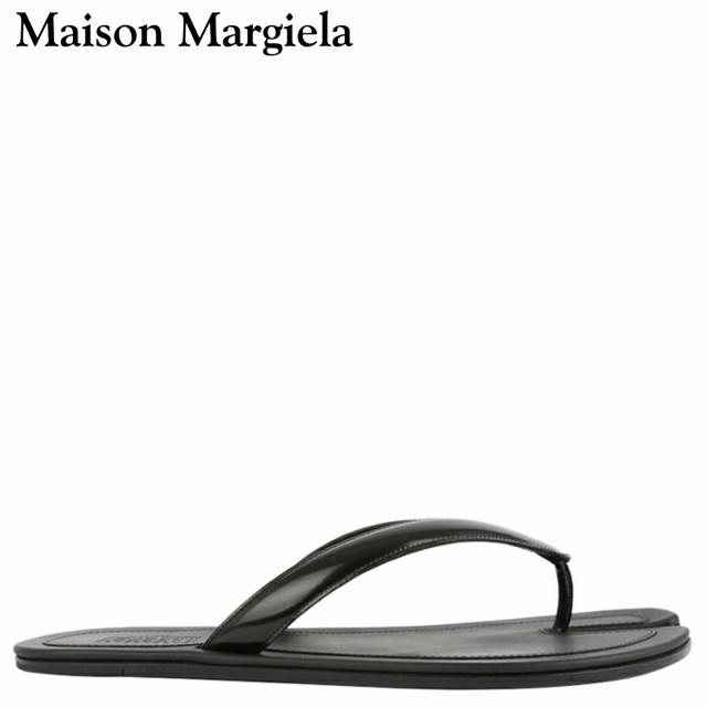 正規通販 メゾンマルジェラ MAISON MARGIELA サンダル ビーチサンダル メンズ TABI FLIP FLOP ブラック 黒 S57WX0023 [3/3 新入荷], ウーマンリミックス e983b9db