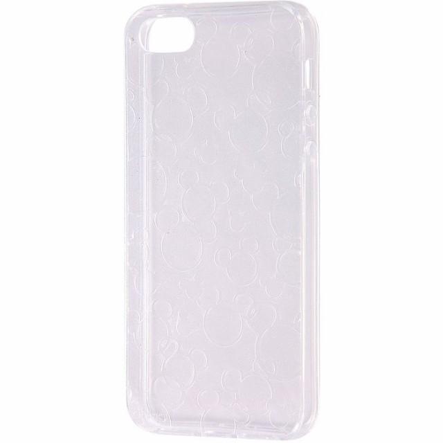5d72cc82b7 iPhoneSE/5s/5 アイフォンSE ケース/カバー ディズニー TPUソフトケース キラキラ ミッキー