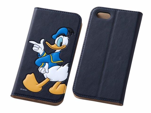 edbaf1d786 iPhone 5/5s アイフォン用ケース カバー ディズニー ポップアップ手帳型レザーケース ドナルドダック