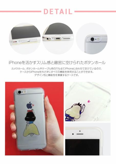 0c65b7e4d2 iPhone6s/6 ケース Dparks ソフトクリアケース ファンタジー童話(ディーパークス)アイフォン カバー