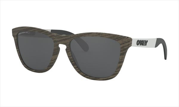 当店在庫してます! オークリー FROGSKINS MIX フレーム:ウッドグレイン レンズ:Prizm Black Polarized 偏光サングラス, クボタチョウ 170b01cd