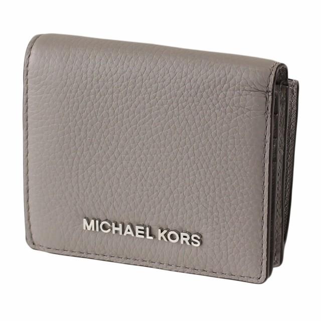 premium selection 75d34 dc98d マイケルコース 折りたたみ財布 MICHAEL KORS 35s9stvd2l グレー
