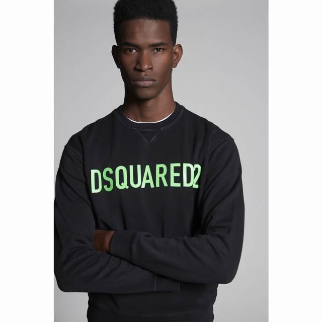 100%本物保証! ディースクエアード DSQUARED2 メンズ スウェット トレーナー トップス Sweatshirt, FLORA 25249326