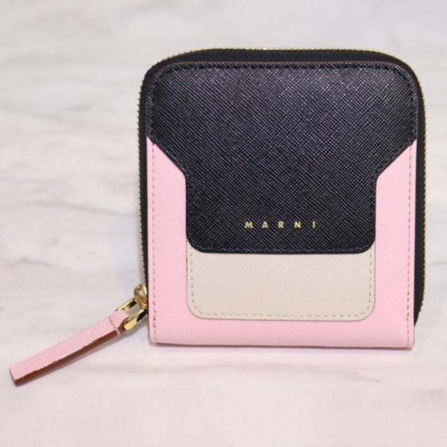 魅力的な価格 MARNI マルニ MA スクエア ジップ 3ラウンド ウォレット 二つ折り財布 お財布 レディース LADIES, 長久手町 b496f545