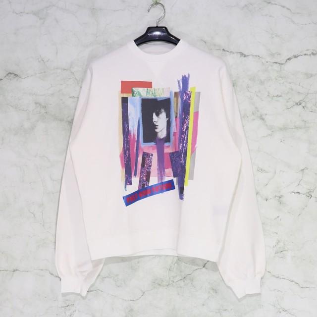 素晴らしい品質 CHRISTIAN DADA / Graphic Print Sweatshirt クリスチャンダダ スウェット MENS メンズ グラフィックシャツ ビッグシルエット サイズ 46, 久万高原町 4d2b4673
