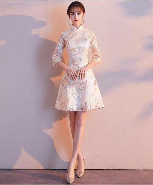 ミニドレス 二次会ドレス 結婚式 演奏会 披露宴ドレス ドレスフォーマル 花嫁ドレス パーティードレス Wedding Dress ウエディングドレス