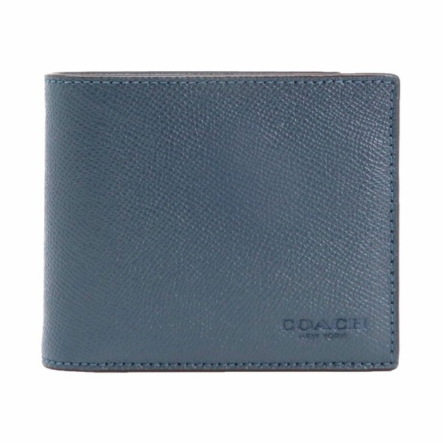 87194755c5a6 【ポイント2倍】コーチ 二つ折り財布 メンズ COACH F59112 DDE アウトレット