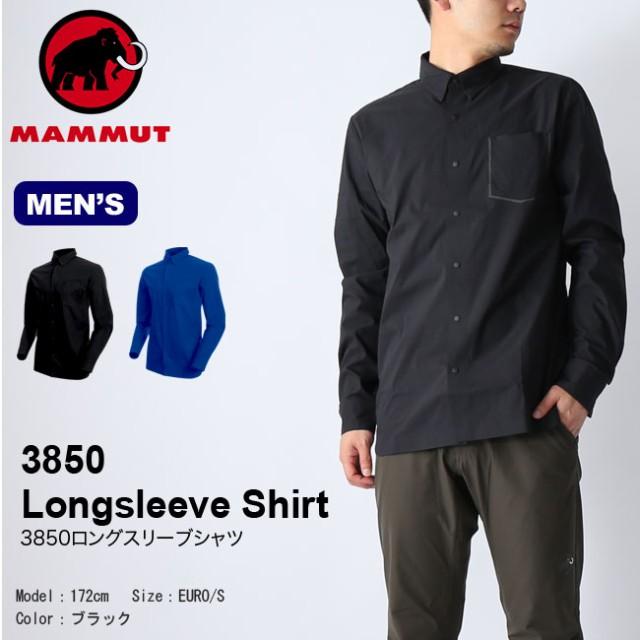見事な MAMMUT マムート 3850ロングスリーブシャツ メンズ トップス 長袖, フジネットショップ eee94369