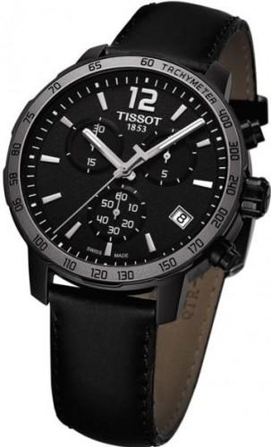 特価商品  腕時計 メンズ クロノグラフ Tissot T095.417.36.057.02 ブラック ティソ-腕時計メンズ