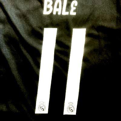 e2b65a2f4d078f 大人用 A027 19 レアルマドリード BALE*11 ベイル 黒グレー ゲームシャツ パンツ付