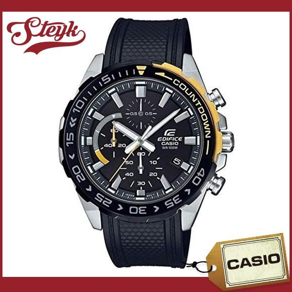値引きする CASIO EFR-566PB-1A カシオ 腕時計 アナログ EDIFICE エディフィス メンズ ブラック カジュアル, アタゴ de07cc7b