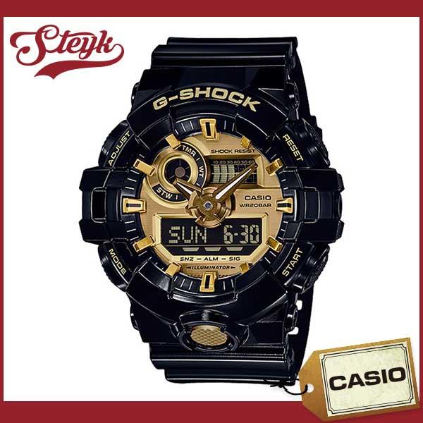 95852e5e52 CASIOカシオ 腕時計 G-SHOCK ジーショック GA-710GB-1A アナデジ メンズ ...