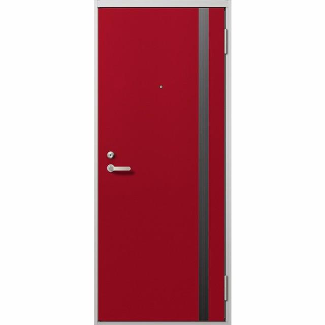 贅沢 玄関 ドア アパートドア リクシル リジェーロα ランマ無 K2仕様 1ロック 14型 W785×H1912, 革小物市場 「ディスタンス」 287a08d8