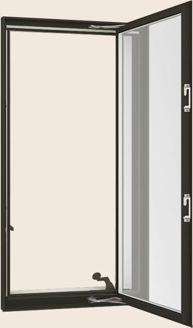 格安新品  防火戸FG-H LOW-E複層ガラス(耐熱強化透明) 縦すべり出し窓オペレーターT 単体サッシ 呼称 02109 W:250mm × H:970mm リクシル, Foot&Rain デポ 59cdac34