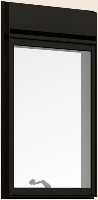 ランキング第1位 防火戸FG-H 縦すべり出し窓 オペレーターハンドル(段窓排気ファン) Low-E複層ガラス 03611 W:405mm × H:1,170mm リクシル トステム, 岩瀬町 5fcb5681