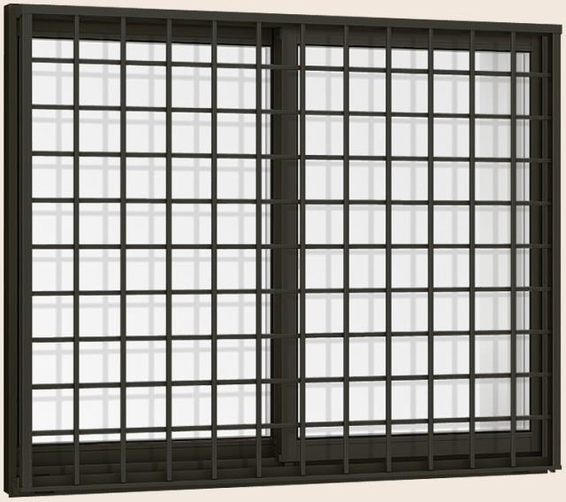 【テレビで話題】 サーモスII-H 引き違い 2枚建て 井桁面格子付き Low-E複層ガラス仕様 13309 W:1,370mm × H:970mm LIXIL リクシル TOSTEM トステム, COMPASSーPLUS 48ceecf9