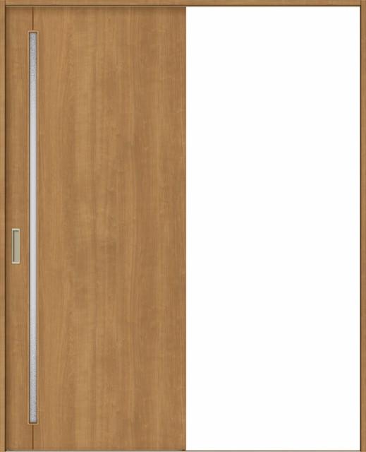 品揃え豊富で ラシッサS 室内引戸 Vレール方式 片引戸 標準タイプ ASKH-LGC 鍵なし 1820 W:1,824mm × H:2,023mm ノンケーシング / ケーシング, イズナガオカチョウ 7a0e4bd9