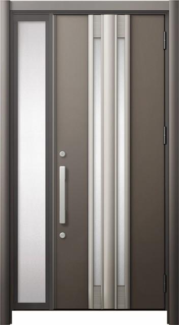 正規激安 玄関ドア リシェント3 断熱 K2 G77型 片袖ドア W:872~1,336mm × H:1,739~2,039mm リクシル トステム, ゴールドエコ 73dde7a3