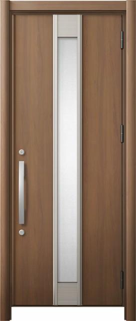 流行に  玄関ドア リシェント3 断熱 K2 M77型 片開きドア W:714~977mm × H:1,739~2,039mm リクシル トステム, カーブティックイフ fe0d874b
