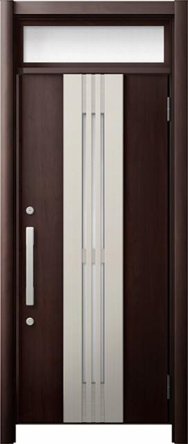 【サイズ交換OK】 玄関ドア リシェント3 断熱 ランマ付 K2 M84型(採風) 片開きドア W:820~864mm × H:1,974~2,300mm リクシル トステム, テスラ fba9adb6
