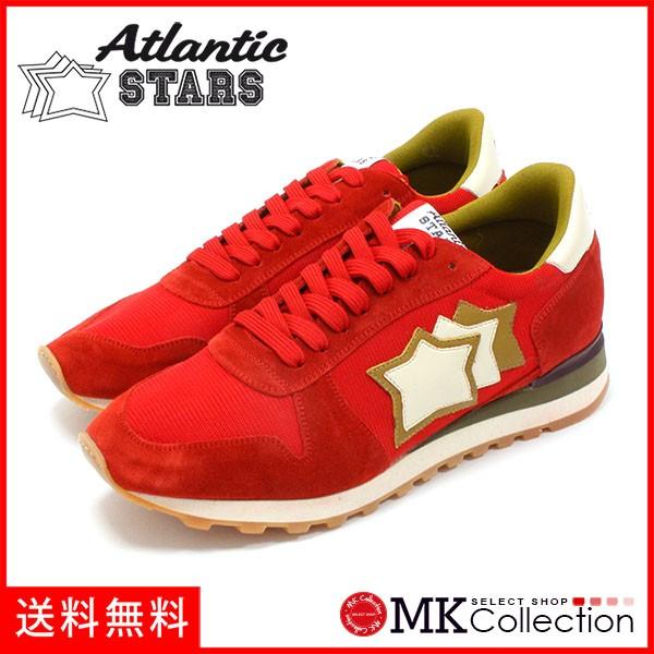 手数料安い アトランティックスターズ スニーカー メンズ ATLANTIC STARS Sneakers アルゴ レッド ARGO RFS-NY-APSBO ROSSO, 彫銀「ほりぎん」 40abec44