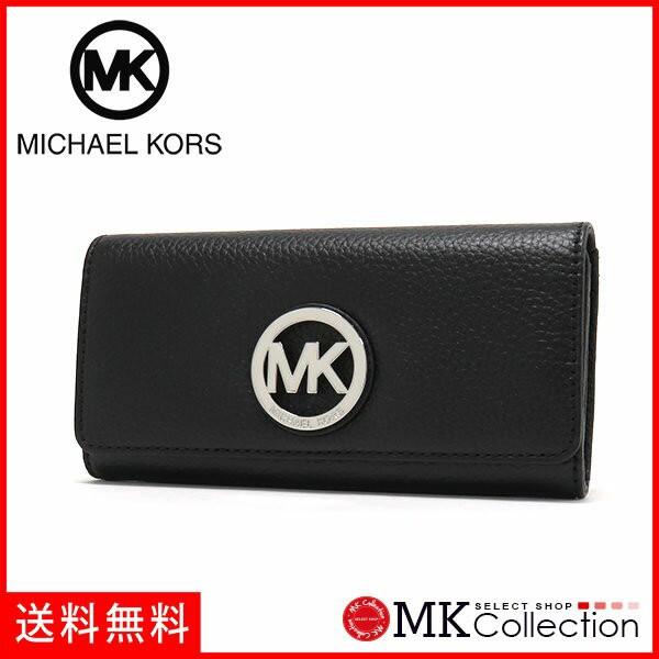 new product 2c16c c4fde マイケルコース 長財布 レディース MICHAEL KORS Wallet レザー BLACK ブラック 35T3SFTE1L BLACK|au  Wowma!(ワウマ)