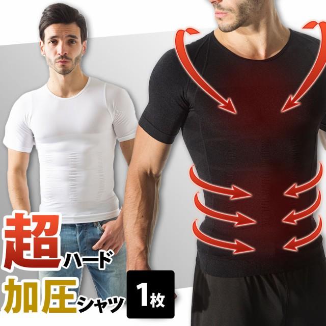 【一斉セール】【送料無料/1着】人気ブランド加圧Tシャツ届いてからのお楽しみ! 燃焼 メンズ 男性 半袖 加圧シャツ 脂肪 加圧インナー