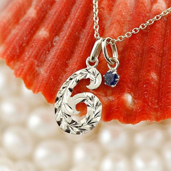 非売品 ハワイアンジュエリー 数字 6 サファイア ネックレス ホワイトゴールドk18 ナンバー レディース チェーン 人気 9月誕生石 18金 送料無料, NOLITA fairy stone 72e9f1b0