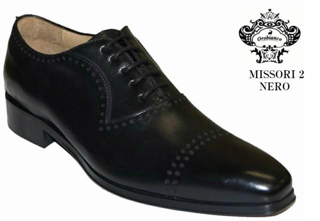 【当店限定販売】 ITALY職人技術による高品質 ビジネスシューズ (オロビアンコ) MADE ミッソーリ IN OROBIANCO 2 MISSORI ドレストラッド 2 本革-靴・シューズ