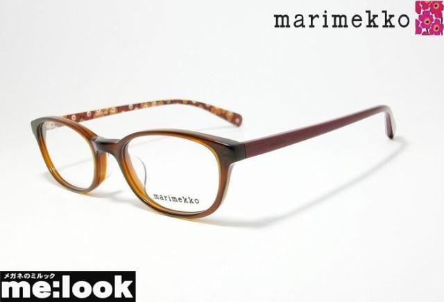 abc596b0cb3a86 marimekko マリメッコ レディース 女性用 眼鏡 メガネ フレーム 32-0032-3 サイズ50 ブラウン