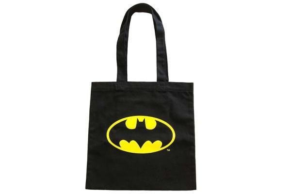【DCコミック】カラートートバッグ【バットマンロゴ】【バットマン】【ヒーロー】【スーパーヒーロー】【アメリカ】【アメコミ】【コミッ